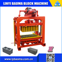 QT4-40 Manual cement brick block making machine price