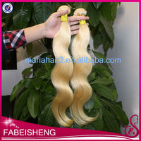 Chinese merchandise free sample human hair weave packaing, quality brazilian hair extension, blonde body wave human hair