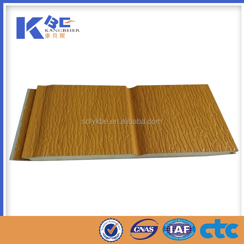 polyurethane decorative thermal insulation exterior wall panel