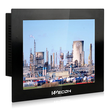 "10.4"" True color high light panel touch screen,embedded pc with win 10 iot os"