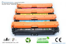 Compatible color toner cartridge HP CE740A CE741A CE742A CE743A for HPCP5225/N/DN