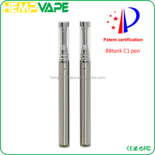 Purest taste Wickless BBTANK C1 vape pen juju joint e cig ceramic coil for cbd oil