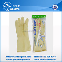industry latex rubber powder free industrial glove