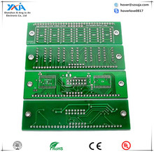 1 to 8 Layer Circuit Board PCB for Electronic Device Custom V-Cut FR4 Rigid PCB