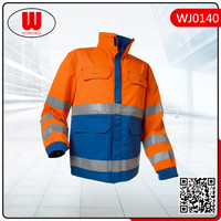 oil refinery mining reflective cotton work uniforms