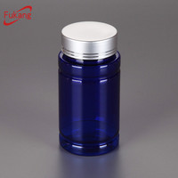 4oz pet bottle, screen printing surface handling plastic pill bottles, child proof medicine containers wholesale China factory