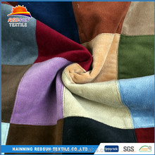 China Suppliers split joint Super Soft Polyester Velvet Fabric
