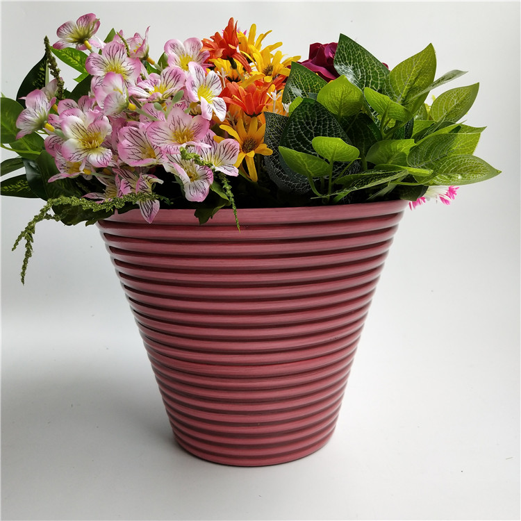 Large Waterproof outdoor PP flower pot