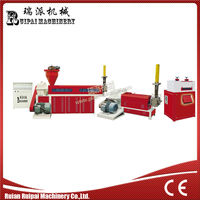 Two Stage Ruipai Brand Recycle Plastic Granules Making Machine Price