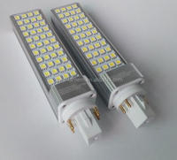 10w 4 pins g24 led, G23 G24 led pl lamp, 4 pins led plc light for cfl replacement