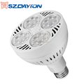 Jewelry Lighting AC90-305V 30W 35W Aluminum Lamp Body Dimmable E27 LED PAR30 Lighting 40W
