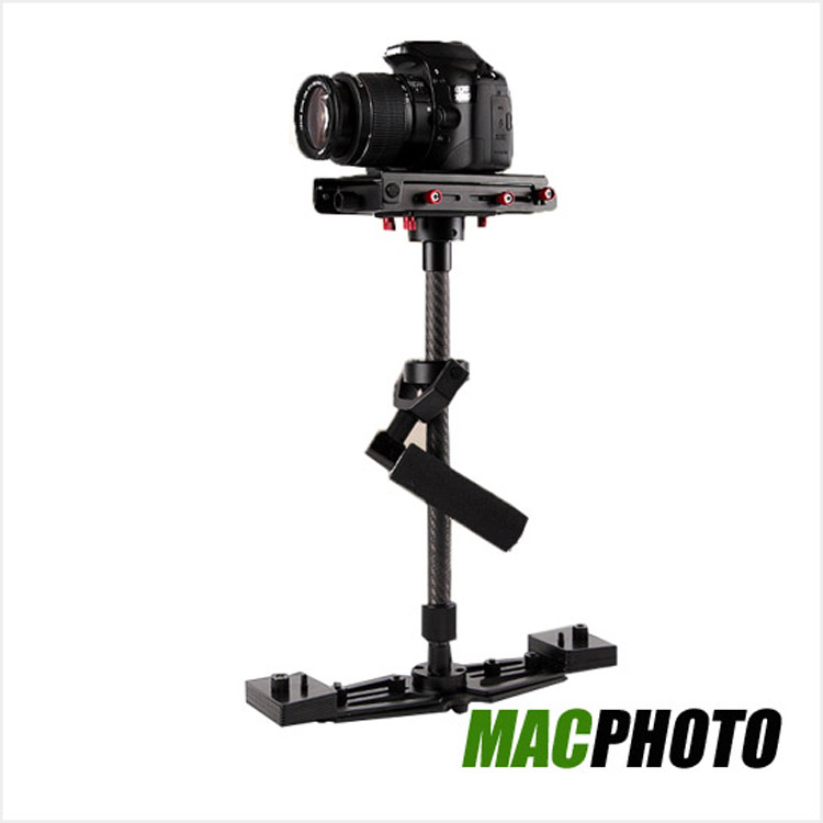 "Handheld Carbon Fiber Alloy Stabilizer with 1/4"" Quick Release Plate for Camcorder DV Camera up to 6lbs WD-A1"