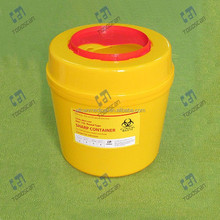 PP medical biohazard waste sharp container 12L