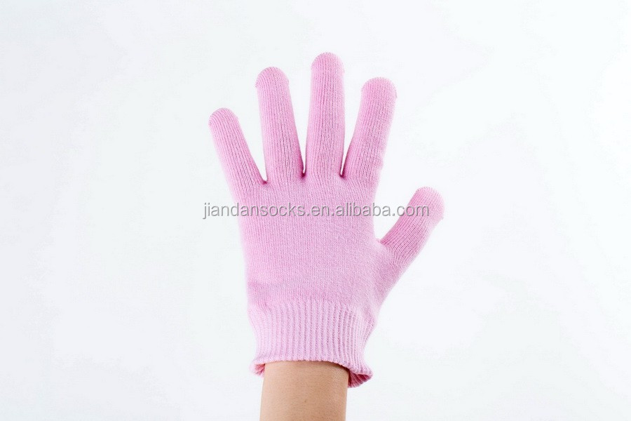 Hot-Pink Gel Moisturize Soften Repair Cracked Skin Moisturizing Treatment Gel Spa Glove gel toe Socks