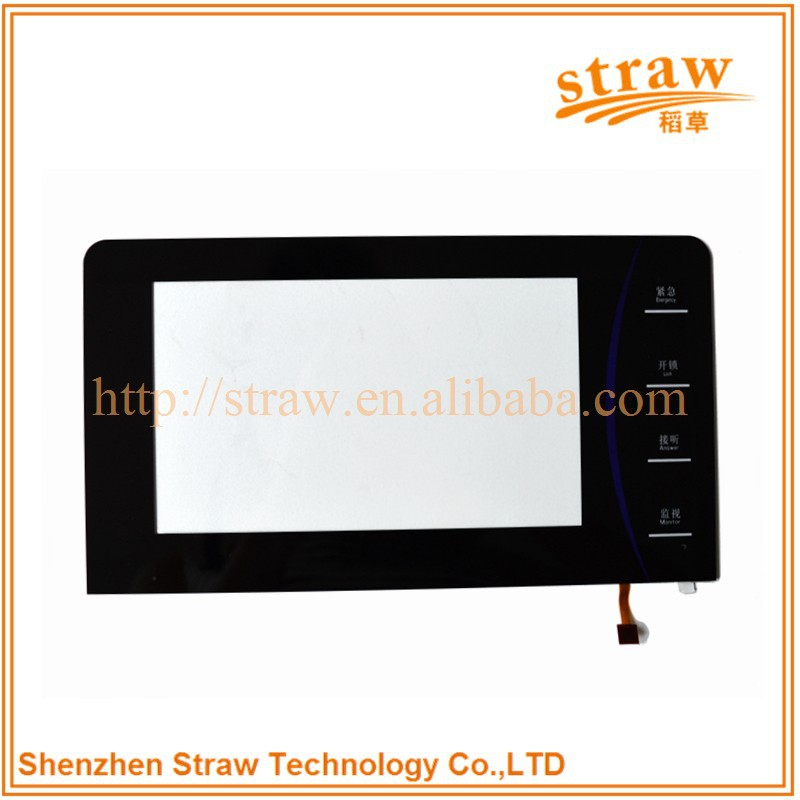 Access Control Intercom Apply 8.4 Inch Capacitive Touch Screen Panel