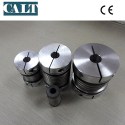 China CALT Metal Bellow Flexible CNC Motor Quick Shaft Coupling Coupler