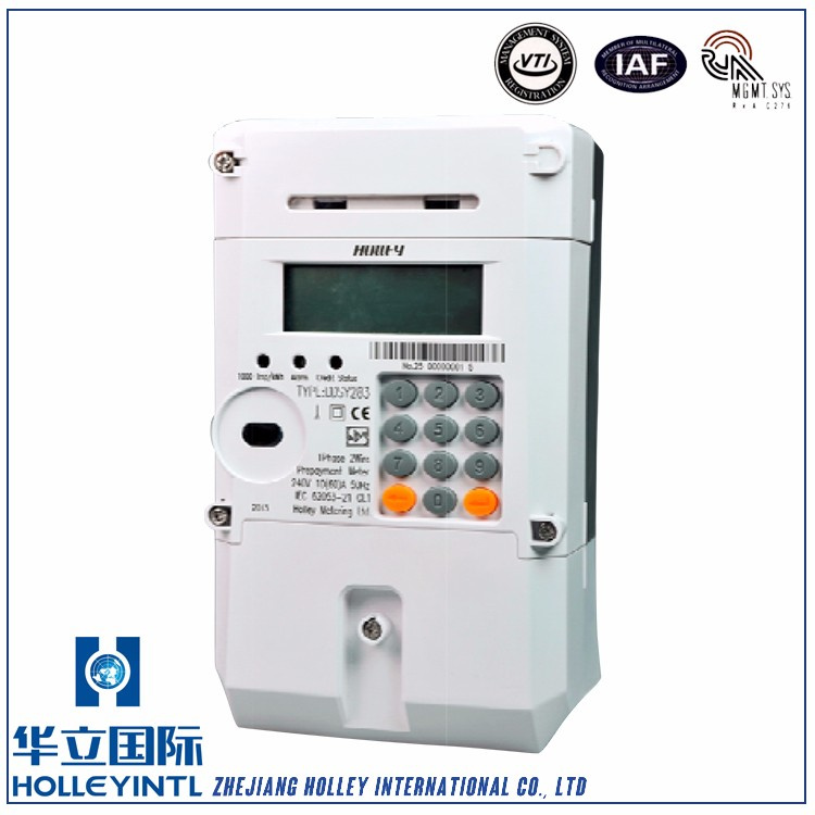 Protection Power Overload Prepayment Electrical Meter