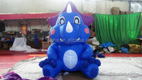 blue inflatable zenith dragon