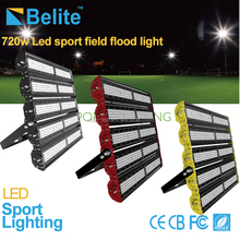 720W sports high mast light AC100-277V 15 degree center illuminance IES for dailux simulation