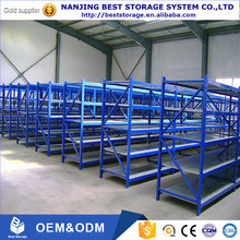 China supplier metal storage shelf with ISO CE certificate