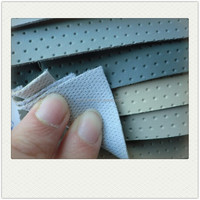 Perforated PVC leather for car seat Automotive Pvc Leather DH218