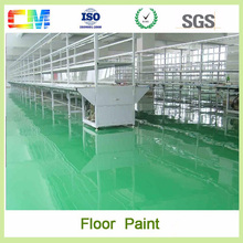 High surface hardness ashable Polyurethane flooring coating for industrial warehouse floor paint