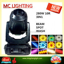 Copy ROBIN Pointe 280W 10R Sharpy Beam Spot Wash 3in1 Moving Head Stage Light