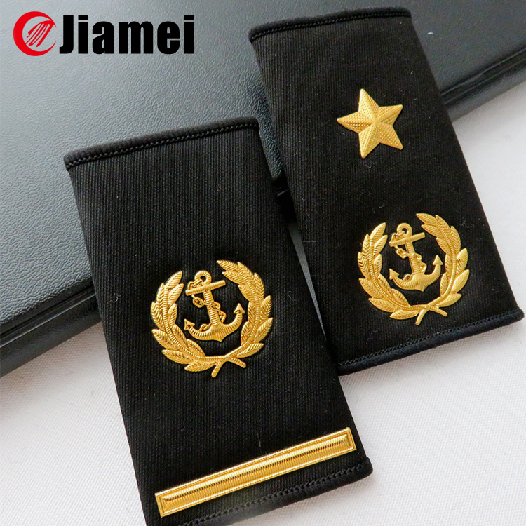 Pilot Epaulettes Captain Epaulettes One Two Three Four Gold Bars With Anchor