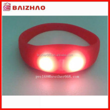 LED Light Silicon Wristband, Silicone Party LED Wristbands, Led Light Silicon Bracelet