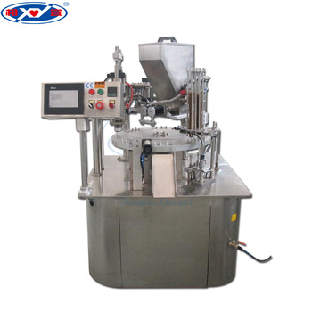 Automatic Powder Filling Machine/k Cups Coffee Capsule Filling Sealing Machine For Filling Powder