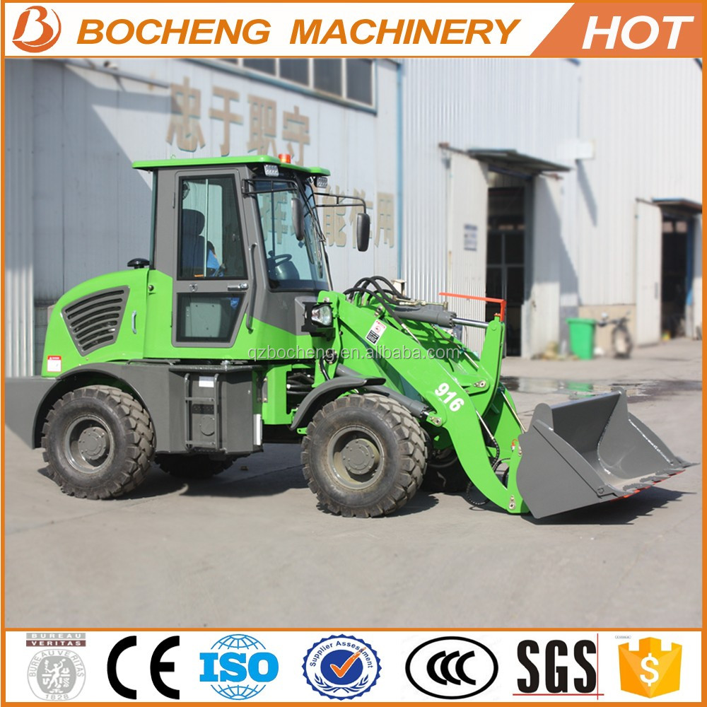 snow blower wheel loader articulated mini wheel loader zl16