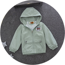 4 colors cotton hoody baby boys jacket