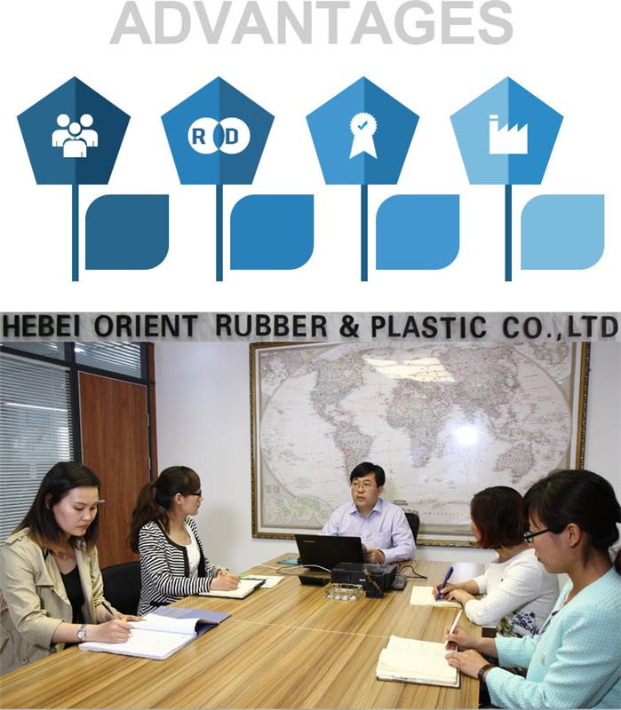 Good price durable non toxic multi purpose polyethylene tube guard protector factory wholesale