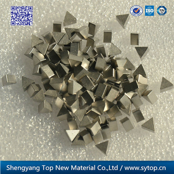 Machining low angle erosion resistance cobalt alloy saw tips for band saw