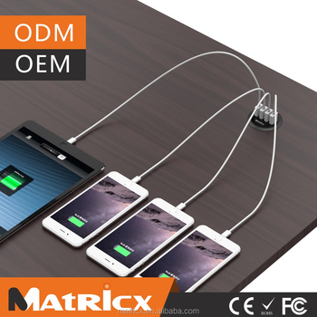 4 Port USB Desktop Smart Charger