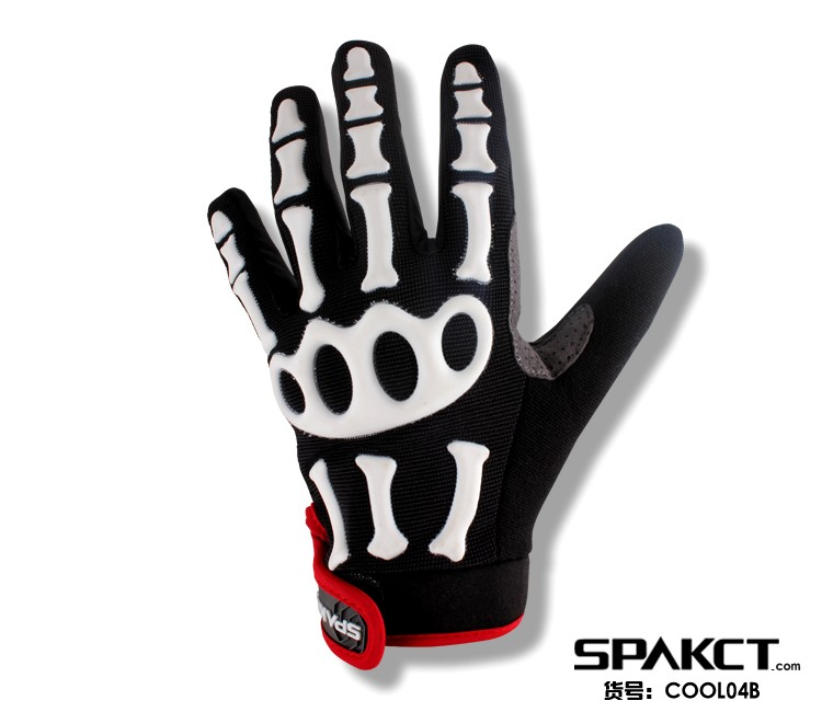 Spakct Competitive price biking leather cheap motorcycles gloves COOL04B