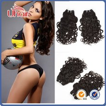 CHEAPEST malaysian hair extension distributor wholesale price human hair extension different types of curly weave hair