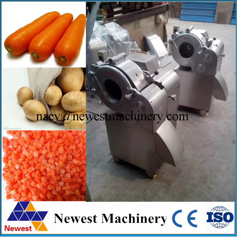 Newest design electric vegetable slice making machine/carrot cutting machine/onion dicing machine stainless steel