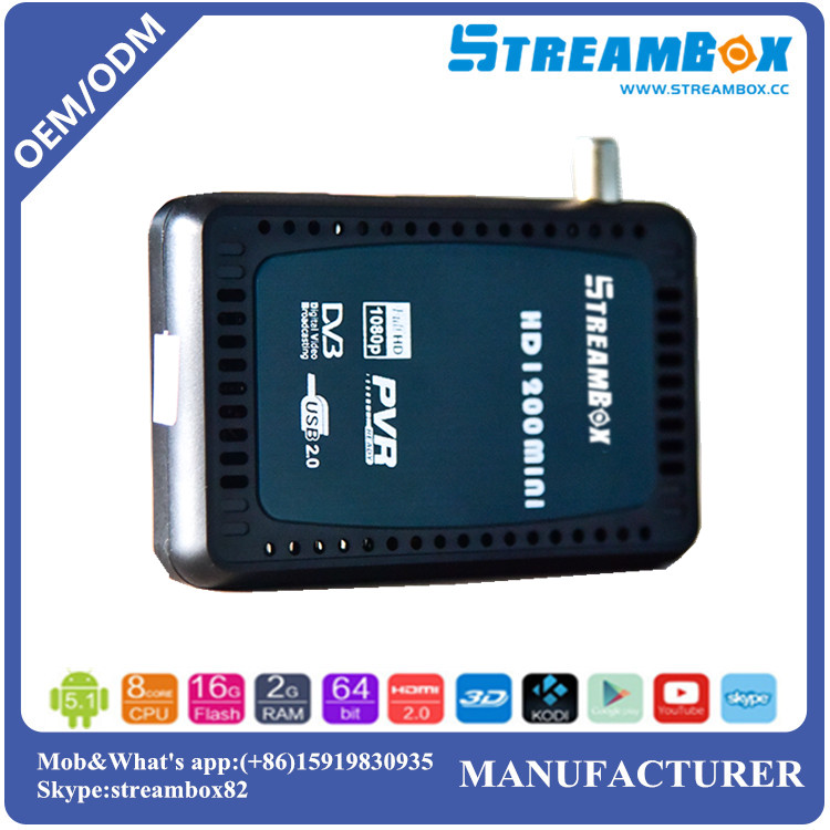 DVB-S2 Mpeg4 IKS Mini HD Receiver TV Box hd dvb-s2 mini satellite receiver hd