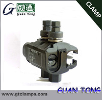 NTD connector / clamp for low voltage cable / two bolts piercing wire connectors