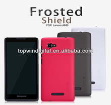 Original Nillkin Super Frosted Shield Matte Hard Case For Lenovo A880 With Screen Protector