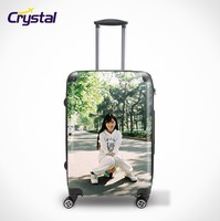"20"" Inch ABS + PC Zipper Trolley Case Bag / Luggage Set / Expandable Flight Case With Laptop Compartment"