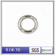 Metal accessories Zinc Alloy round O metal buckle