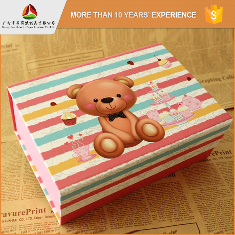 popular style paper gift box/foldable sotrage box/paper box packaging