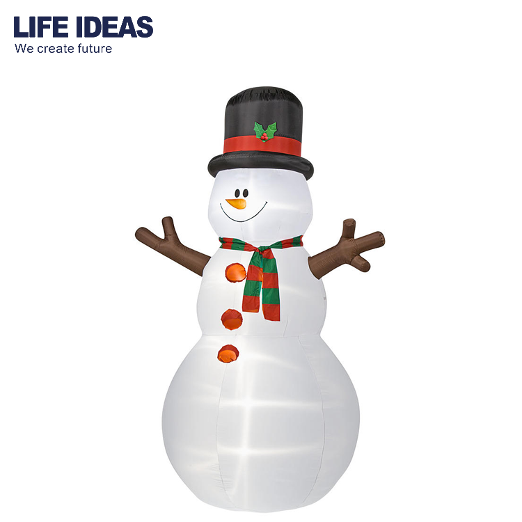 6ft/180cm High Quality Christmas Outdoor Inflatable Snowman Yard Decoration