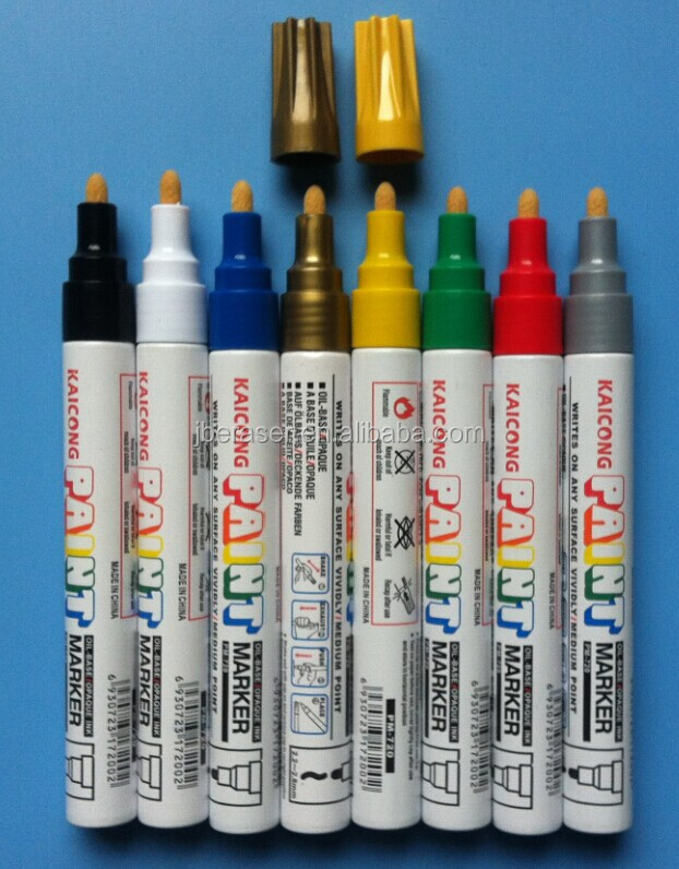 glass writing oil based paint marker,permanent paint marker for metal