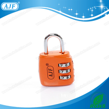 AJF High quality 33mm 3 numbers fashionable digital lady code combination lock