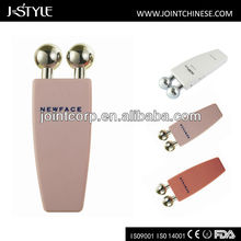 J-style home use rolling ionic electric breast massager microcurrent facial machine beauty device
