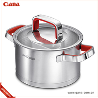 Hot sale 7pc stainless steel cookware set kitchen/Hotel cooking pot set
