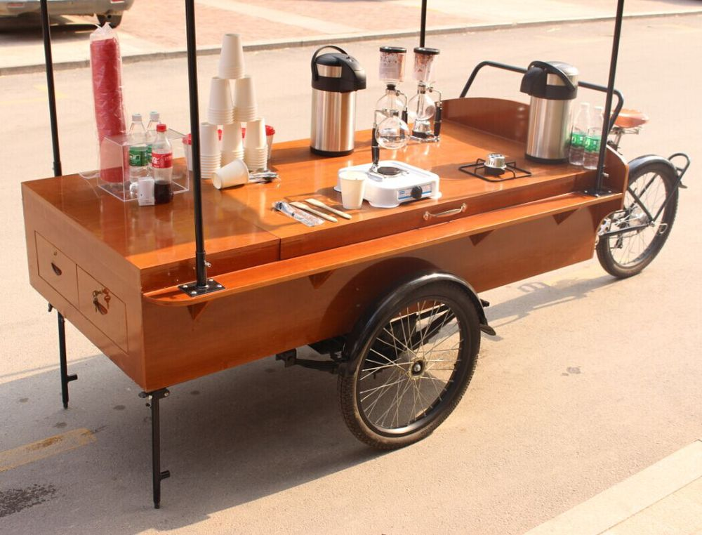 Retro Coffee Bike /Hot Food Truck/Fashion Coffee Cart